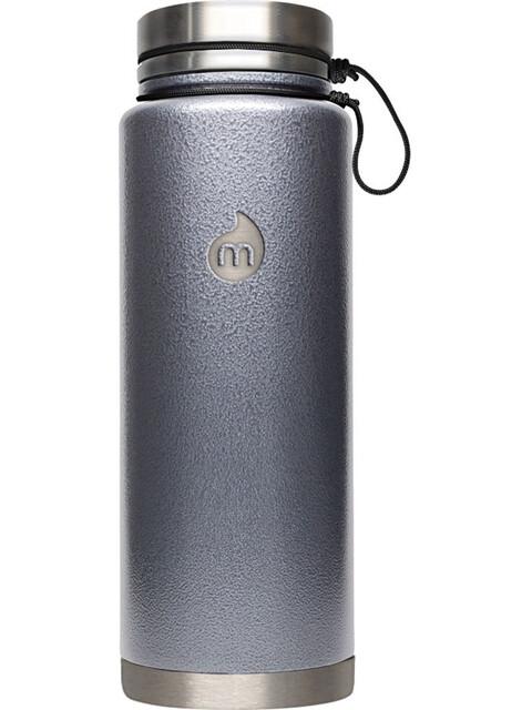 MIZU V12 Insulated Bottle 1200 ml Gray Hammer Paint